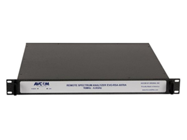 AVCOM – NEW Full-Feature Spectrum Analyzer from 70 MHZ to 6 GHz